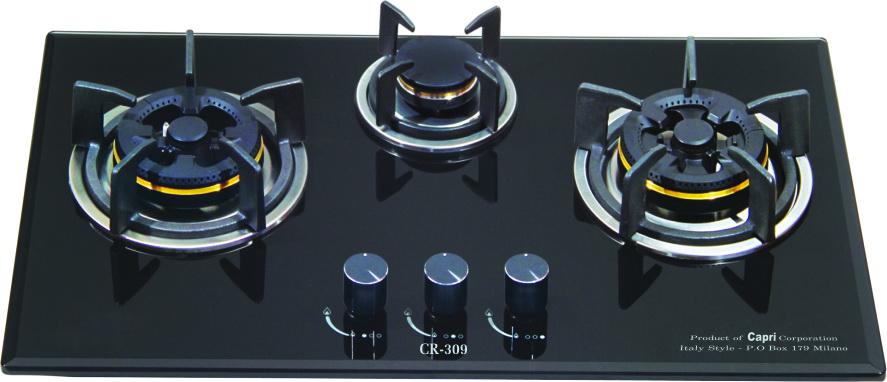 Bếp gas âm CR 309KT (Black)
